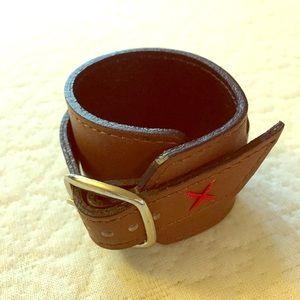 Gap // leather bracelet cuff